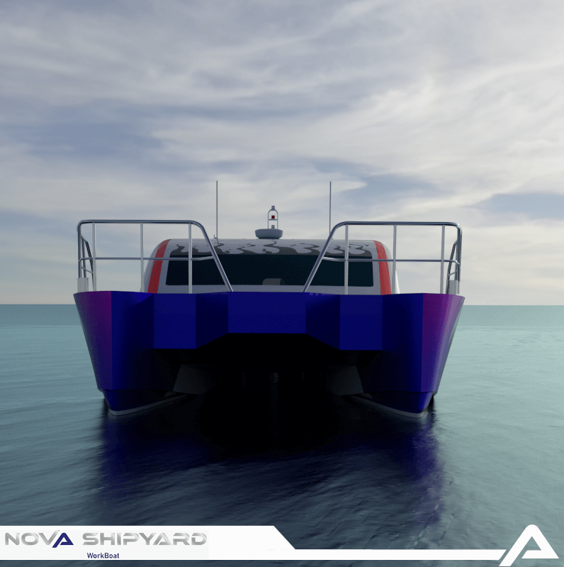 12m Passenger/Tourism Boat – Nova FX120