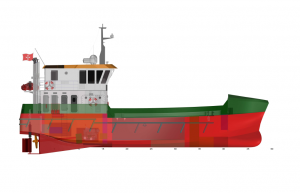 Nova FSV240 Fish Farm Support Vessel