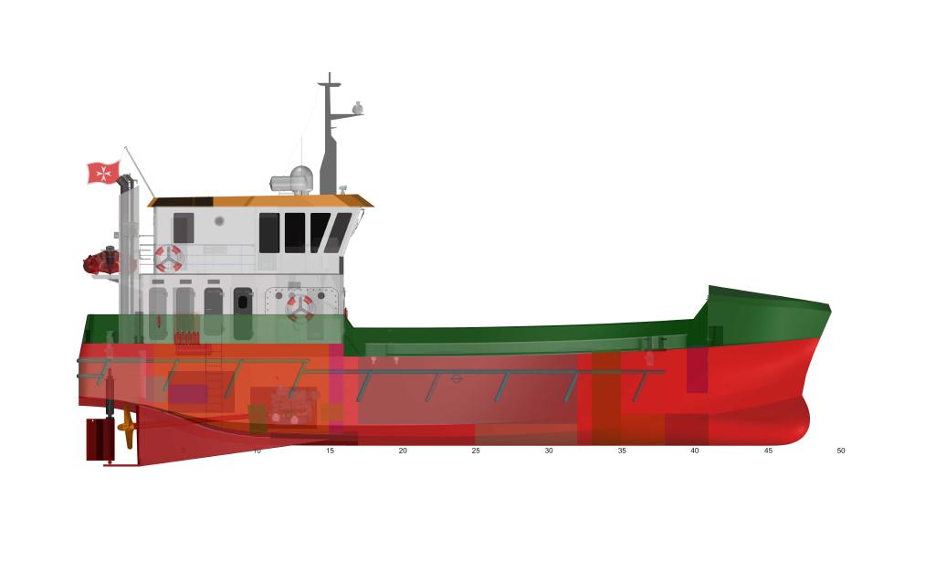 Nova FSV240 Fish Farm Support Vessel