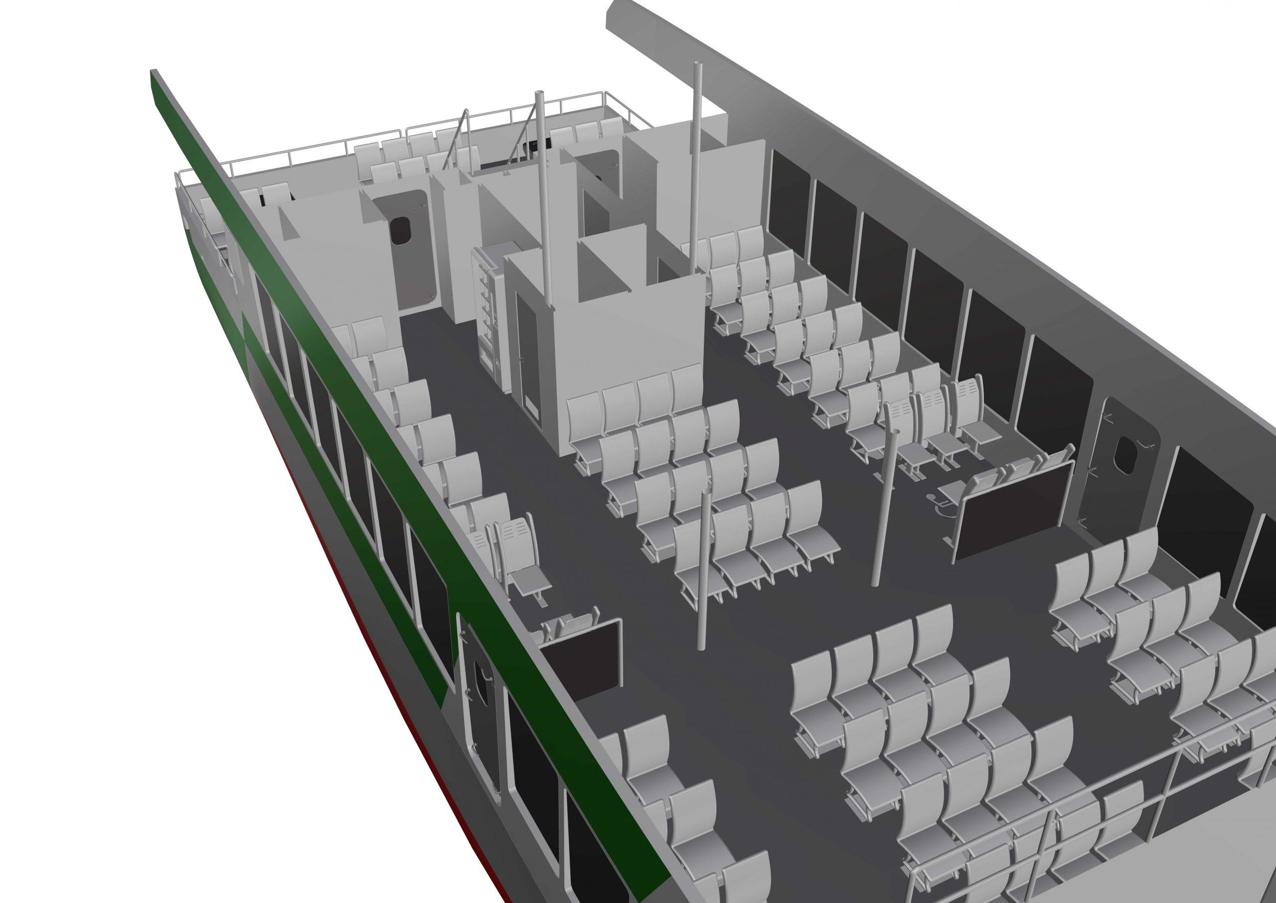 24m Hybrid Passenger Ferry – Nova FX240 Hybrid